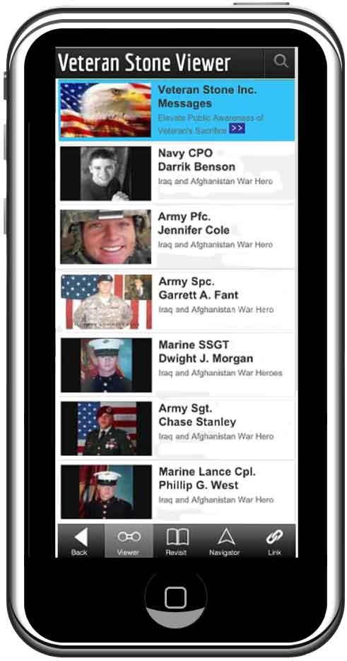 Napa's Iraq & Afghanistan War Virtual Memorials