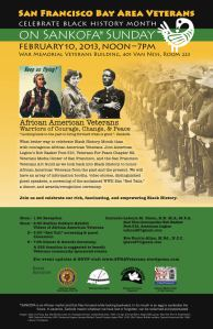 San Francisco Bay Area Veterans Celebrate Black History Month February 10, 2013