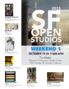 7 On Market Open Studios 10/19, 20, 2013, Veterans Community Media Center