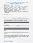 Veterans Community Media Center Volunteer Application page 2