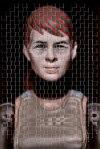 Ryan McClymont,  Private Sarah M_________, handwoven photographic digital print, 14x20