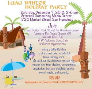 Luau Winter Holiday Party